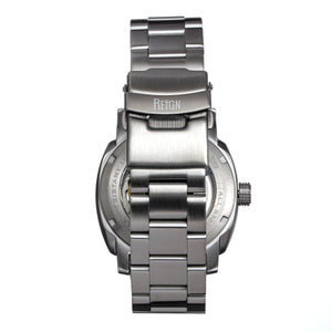 Reign Impaler Semi-Skeleton Bracelet Watch - Grey/Silver - REIRN6108
