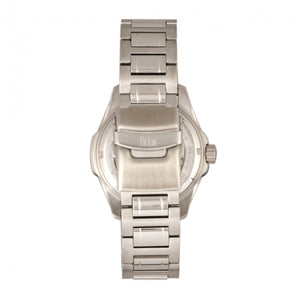 Reign Henley Automatic Semi-Skeleton Bracelet Watch - Silver/White - REIRN4501