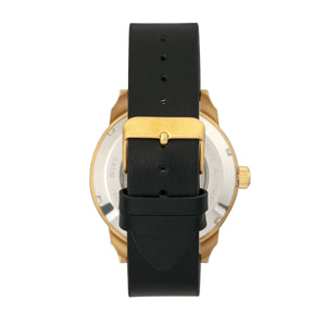 Reign Lafleur Automatic Leather-Band Watch w/Date - Gold/Teal - REIRN5406