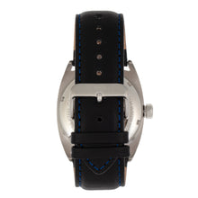 Load image into Gallery viewer, Reign Astro Semi-Skeleton Leather-Band Watch - Silver/Black - REIRN5501
