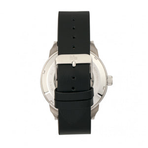 Reign Lafleur Automatic Leather-Band Watch w/Date - Silver/Black - REIRN5404
