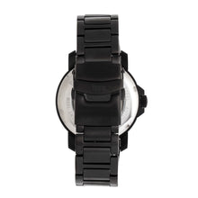 Load image into Gallery viewer, Reign Helios Automatic Bracelet Watch w/Day/Date - Black - REIRN5704