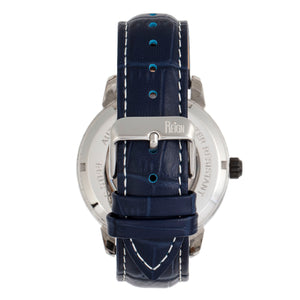 Reign Rudolf Automatic Skeleton Leather-Band Watch - Navy - REIRN5905