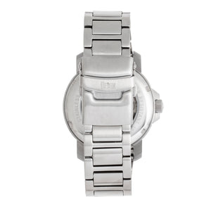 Reign Helios Automatic Bracelet Watch w/Day/Date - Silver/White - REIRN5701