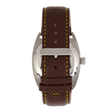 Load image into Gallery viewer, Reign Astro Semi-Skeleton Leather-Band Watch - Silver/Brown - REIRN5502