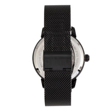 Load image into Gallery viewer, Reign Rudolf Automatic Skeleton Bracelet Watch - Black - REIRN5906