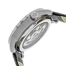 Load image into Gallery viewer, Reign Xavier Automatic Skeleton Leather-Band Watch - Silver - REIRN3901