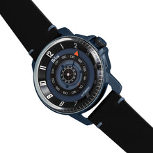 Load image into Gallery viewer, Reign Monarch Automatic Domed Leather-Band Watch - Blue/Black - REIRN5206