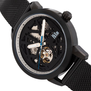 Reign Rudolf Automatic Skeleton Bracelet Watch - Black - REIRN5906