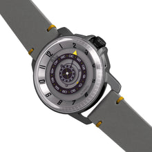 Load image into Gallery viewer, Reign Monarch Automatic Domed Leather-Band Watch - Gunmetal/Grey - REIRN5205