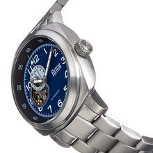 Load image into Gallery viewer, Reign Impaler Semi-Skeleton Bracelet Watch - Blue/Silver - REIRN6110