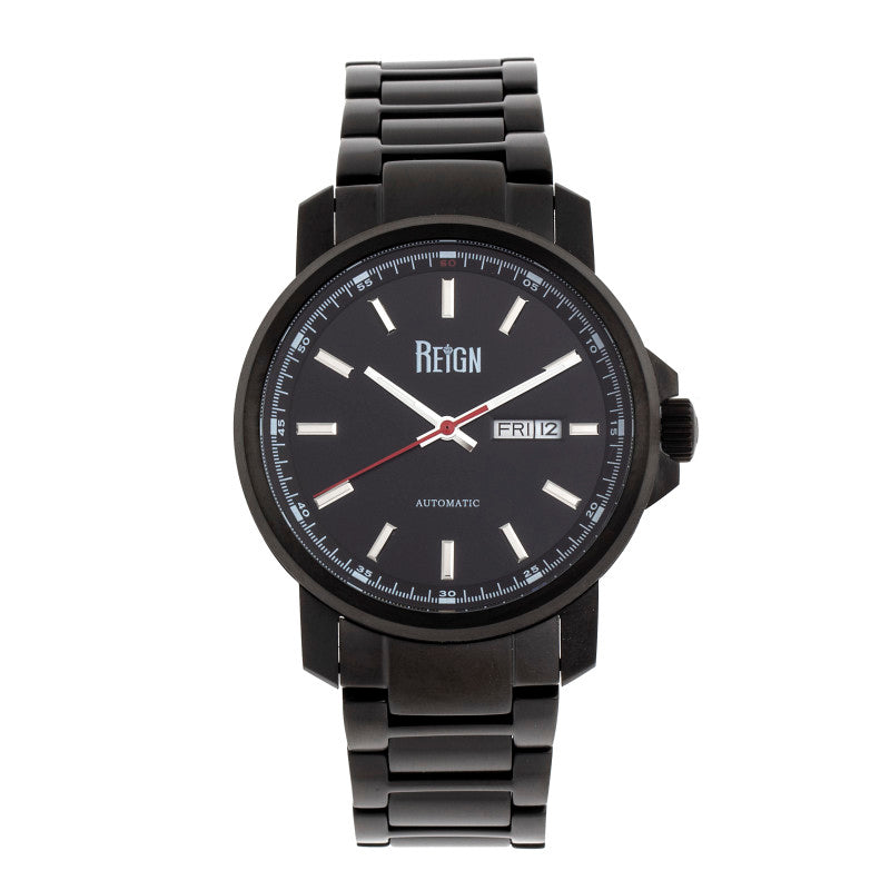 Reign Helios Automatic Bracelet Watch w/Day/Date