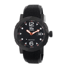 Load image into Gallery viewer, Reign Tudor Automatic Pro-Diver Watch w/Date - Black - REIRN1206