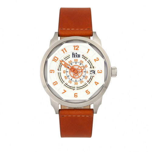 Reign Lafleur Automatic Leather-Band Watch w/Date - REIRN5402