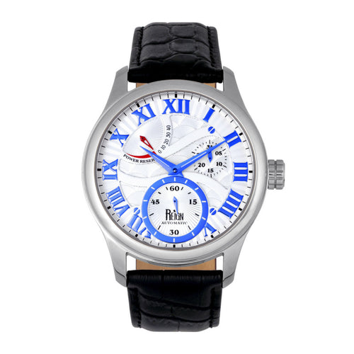 Reign Bhutan Leather-Band Automatic Watch - REIRN1601