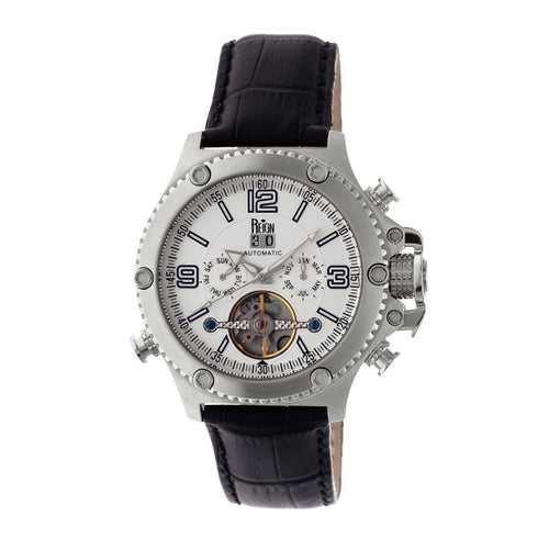 Reign Goliath Automatic Leather-Band Watch - REIRN3301