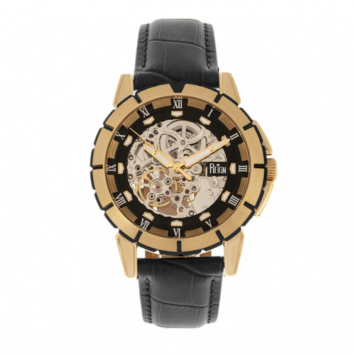 Reign Philippe Automatic Skeleton Men's Watch - REIRN4605