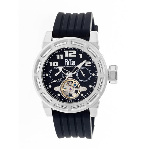 Reign Rothschild Automatic Semi-Skeleton Watch w/Day/Date - REIRN1302