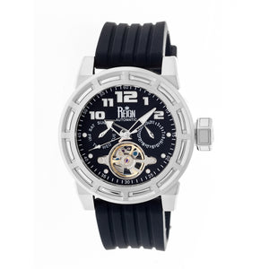 Reign Rothschild Automatic Semi-Skeleton Watch w/Day/Date