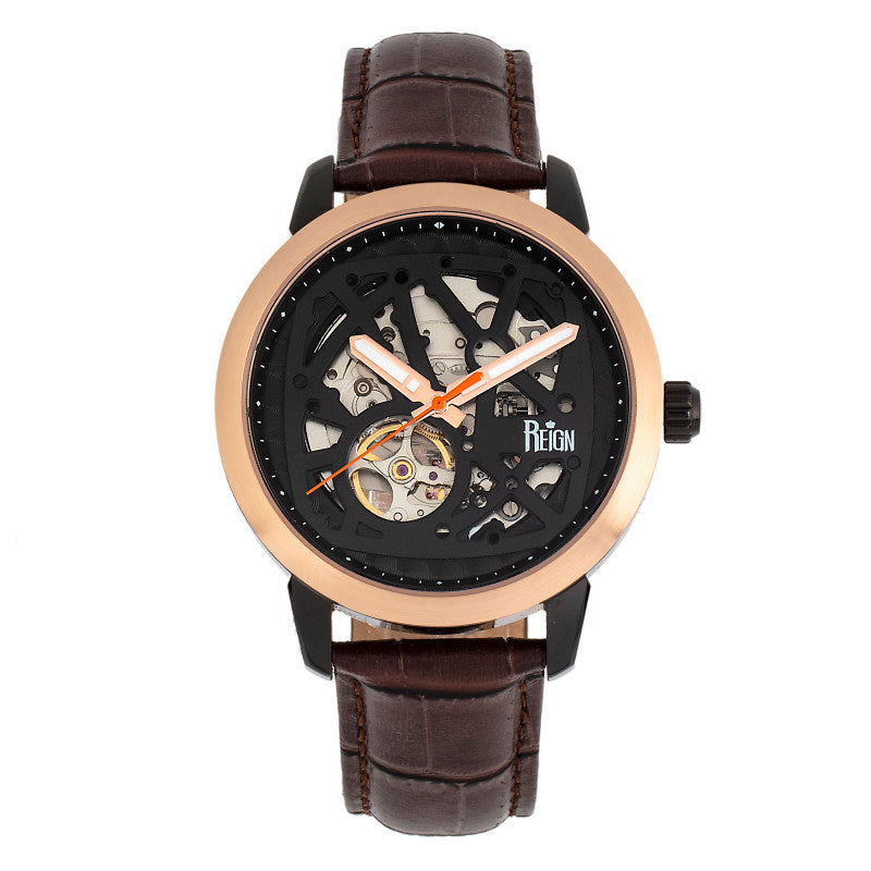 Reign Rudolf Automatic Skeleton Bracelet Watch
