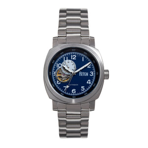 Reign Impaler Semi-Skeleton Bracelet Watch - Blue/Silver - REIRN6110