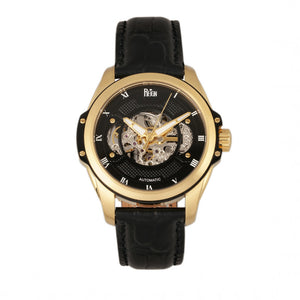 Reign Henley Automatic Semi-Skeleton Men's Watch