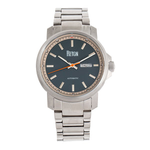 Reign Helios Automatic Bracelet Watch w/Day/Date - Silver/Grey - REIRN5703