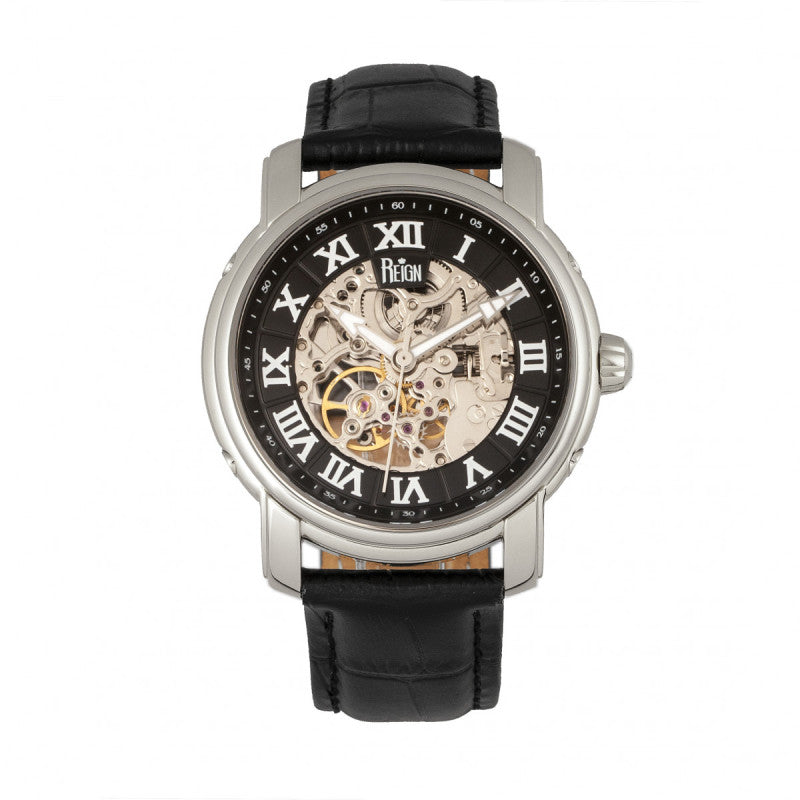 Reign Kahn Automatic Skeleton Men's Watch