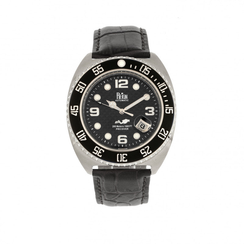 Reign Quentin Automatic Pro-Diver Men's Watch w/Date