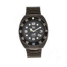 Load image into Gallery viewer, Reign Quentin Automatic Pro-Diver Bracelet Watch w/Date - Black - REIRN4904