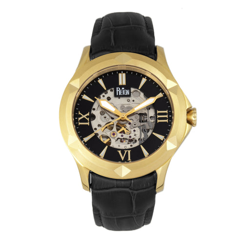 Reign Dantes Automatic Skeleton Dial Men's Watch - REIRN4705