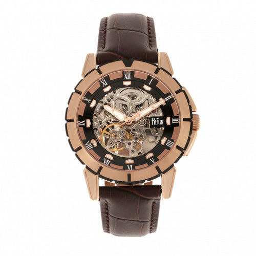 Reign Philippe Automatic Skeleton Men's Watch - REIRN4606