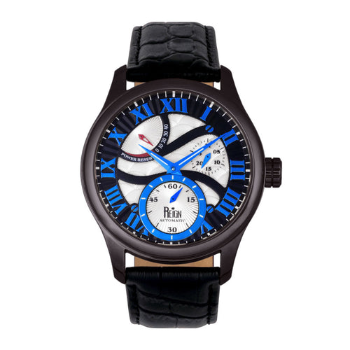 Reign Bhutan Leather-Band Automatic Watch - REIRN1603