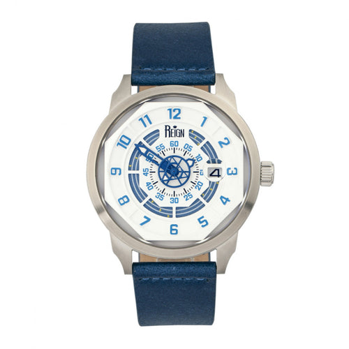 Reign Lafleur Automatic Leather-Band Watch w/Date - REIRN5403