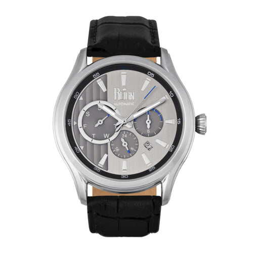 Reign Gustaf Automatic Leather-Band Watch - REIRN1501