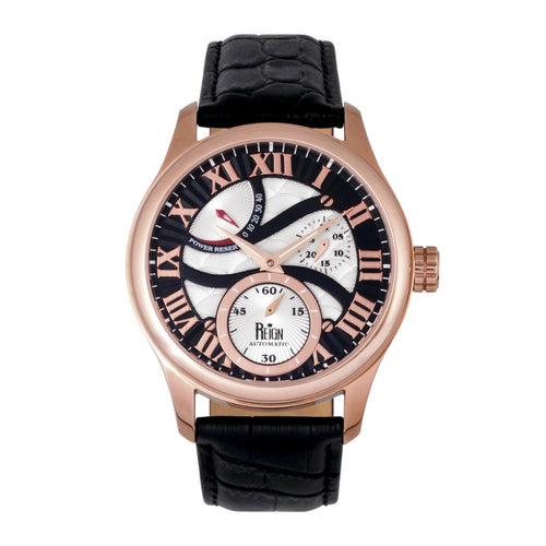 Reign Bhutan Leather-Band Automatic Watch - REIRN1606