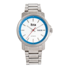 Load image into Gallery viewer, Reign Helios Automatic Bracelet Watch w/Day/Date - Silver/White - REIRN5701