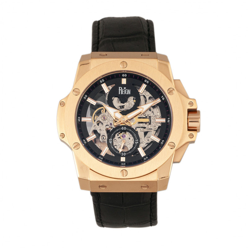 Reign Commodus Automatic Skeleton Men's Watch