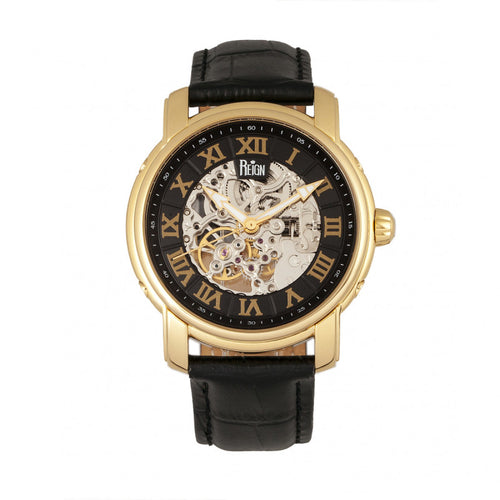 Reign Kahn Automatic Skeleton Men's Watch - REIRN4305