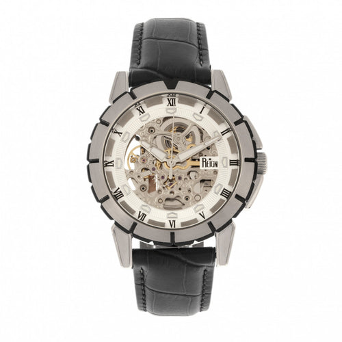 Reign Philippe Automatic Skeleton Men's Watch - REIRN4603