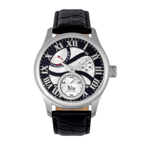 Reign Bhutan Leather-Band Automatic Watch - REIRN1602