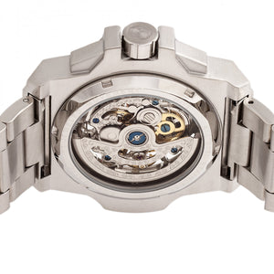 Reign Commodus Automatic Skeleton Bracelet Watch - Silver - REIRN4006