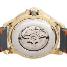 Load image into Gallery viewer, Reign Monarch Automatic Domed Leather-Band Watch - Gold/Grey - REIRN5202