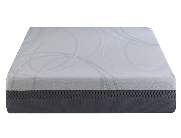 "Performance Sleep O2 113 13"" GelLux Gel Infused Engineered Latex and Foam Mattress"