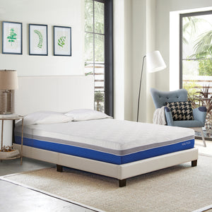 "Nautica Home 10"" Calm Memory Foam Mattress"