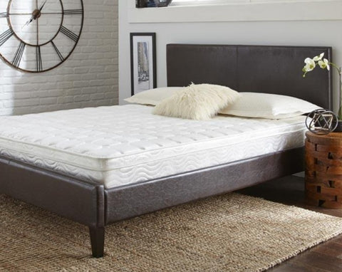 "8"" Innerflex Innerspring Plush Top Mattress Bed"
