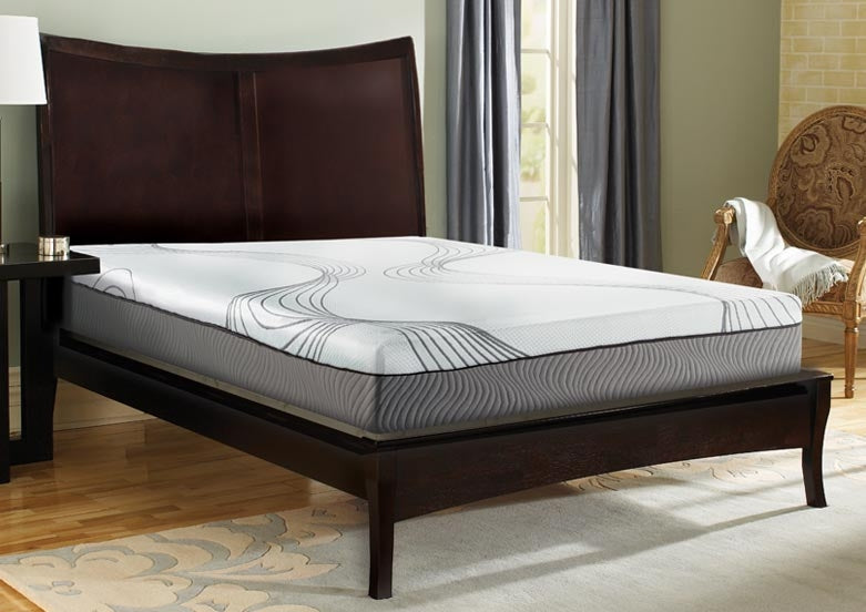 "Illustra 9"" 9102 Engineered Latex Foam Mattress Bed"