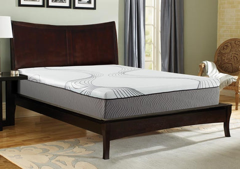 "Illustra 9122 12"" Engineered Latex Mattress Bed"