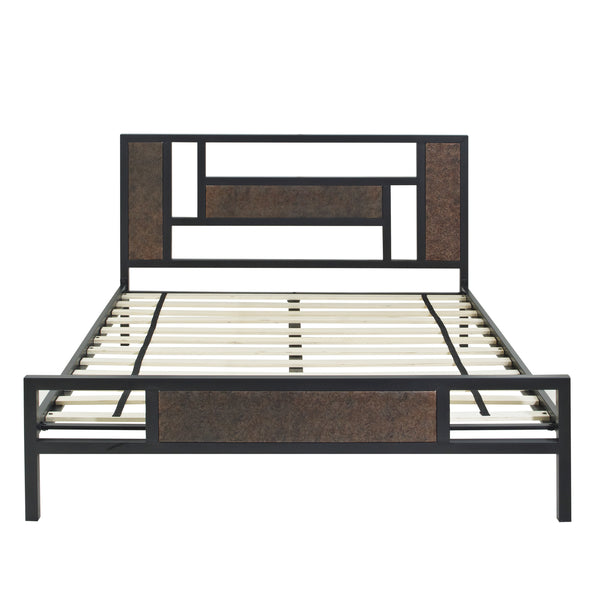 Arielle Metal Platform Bed - Twin