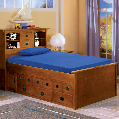 "Youth Blueberry 5"" Twin Memory Foam Mattress"